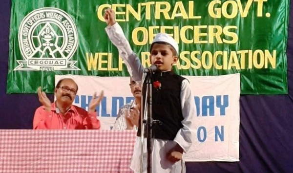 Little Chachaji addressing the gathering
