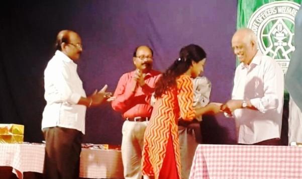 Second Prize bagged by Kum. Arathi Gopakumar of Kendriya Vidyalaya No 1, Calicut