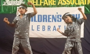 Dance by our little ones - Ritwic and Janvi