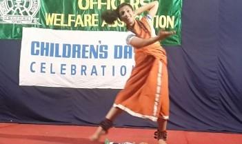 Folk Dance by Alisha Pradeep