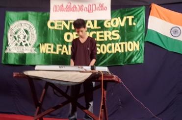 Master Raihan Gafoor on the Key-board