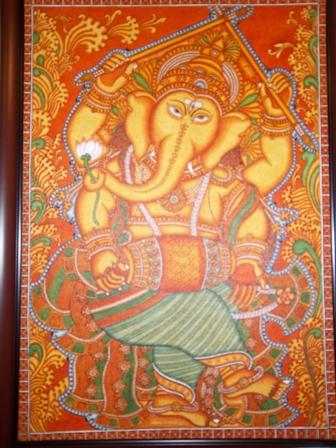 The Dancing Ganapathi