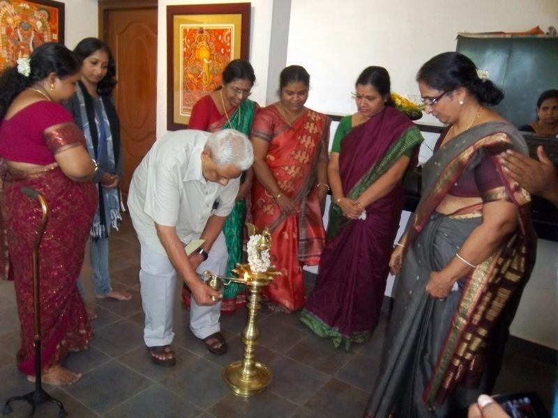 Inauguration of the Exhibition by the renowned historian Sri. M G S Narayanan.