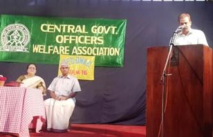 Welcome speech by Secretary Sri. Basheer