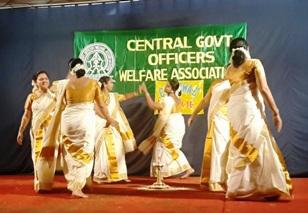 Cegowac ladies wing performing the 'Thiruvathiraikkali'