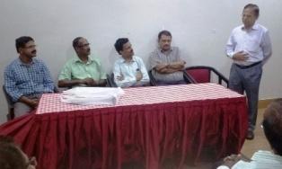 Participants - on the Dais